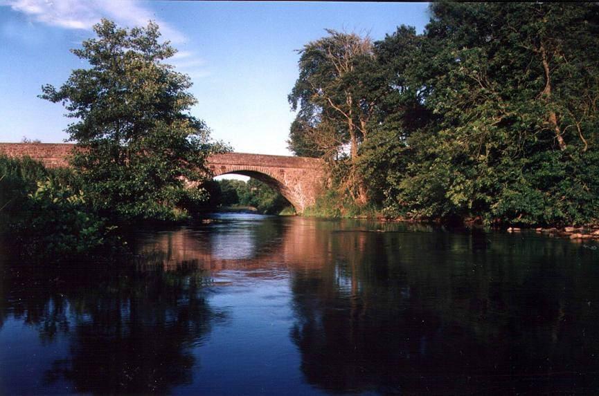 River Irthing - Bridge at Gilsland