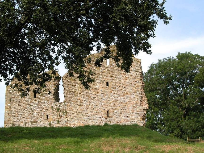 Thirlwall Castle (made from stone from Hadrian's Wall)